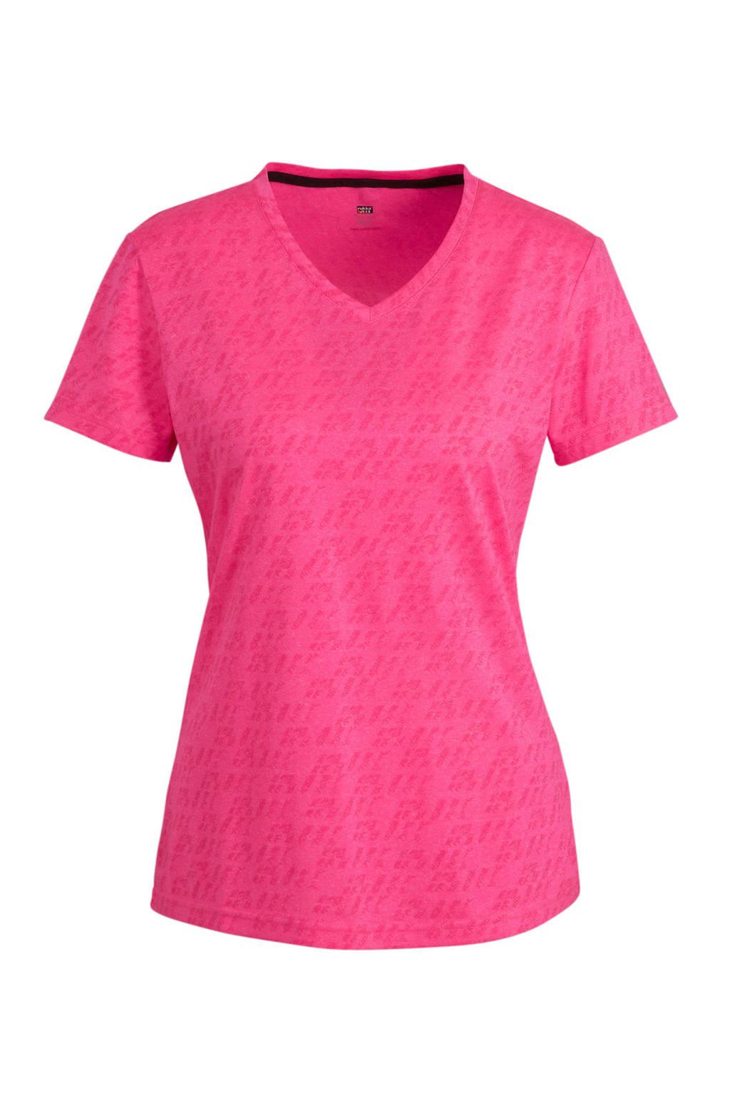 Rukka hardloopshirt Myntti roze, Roze