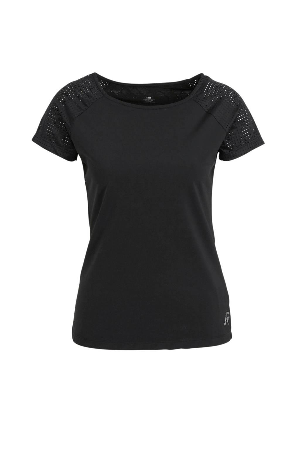 Rukka sport T-shirt Ytterby zwart, Zwart