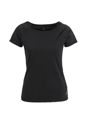 sport T-shirt Ytterby zwart