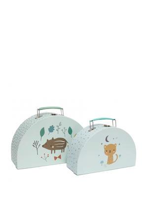 Koffertje set baby beer (set van 2)