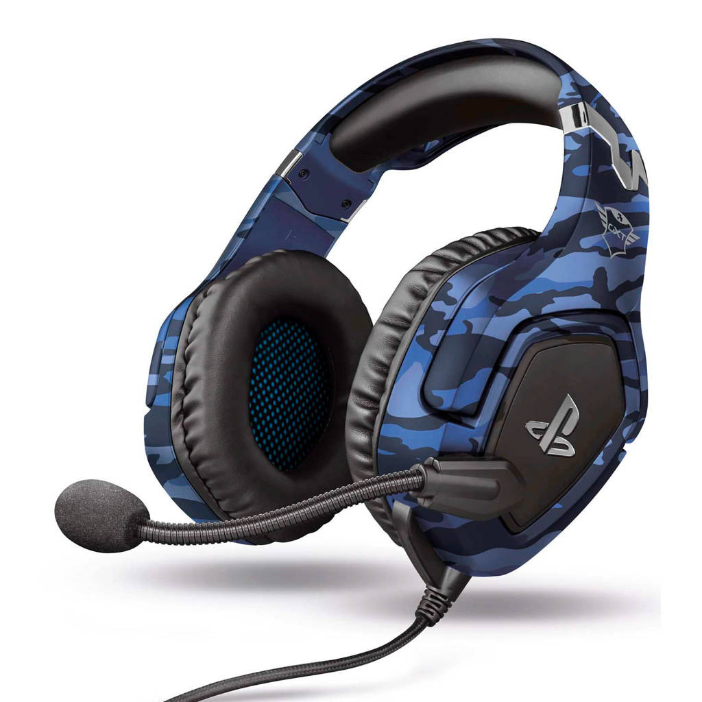 Trust  GXT 488 Forze PS4 Official Licensed gaming headset, Blauw