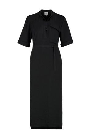 jurk en ceintuur zwart