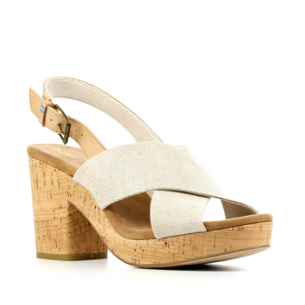 Toms Ibiza  sandalettes beige, Beige