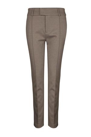 regular fit pantalon PAM bruin