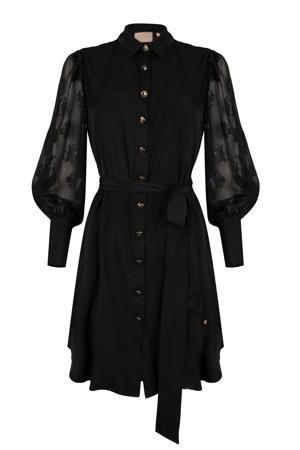 blousejurk REMENICE zwart
