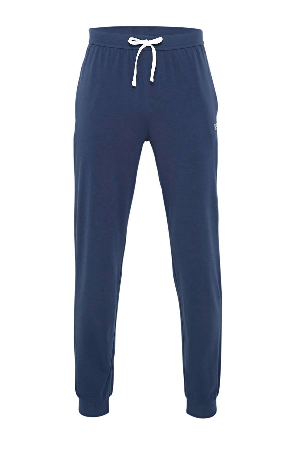 BOSS Bodywear joggingbroek donkerblauw, Donkerblauw