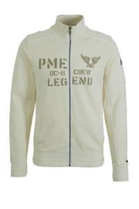 PME Legend vest met logo beige, Beige