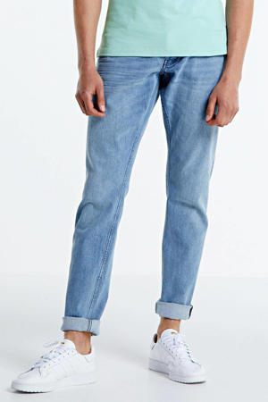 tapered fit jeans Jim washed out