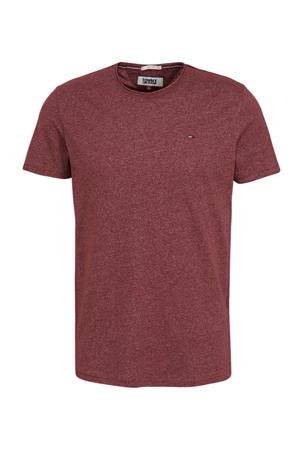 T-shirt donkerrood