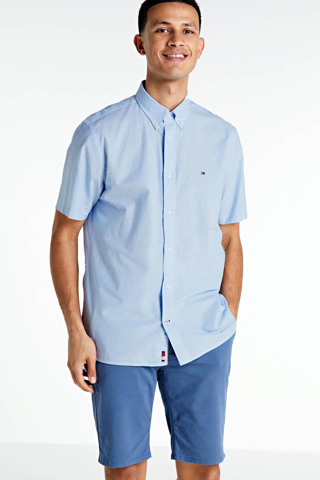 Tommy Hilfiger regular fit overhemd lichtblauw, Lichtblauw