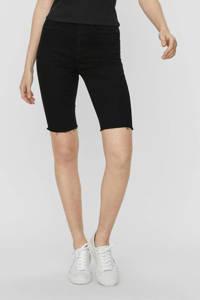 NOISY MAY slim fit capri NMBE CALLIE black, Zwart