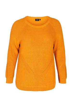gebreide trui Joanne geel