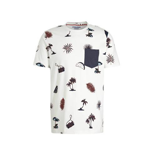 JACK & JONES ORIGINALS T-shirt met all over pr