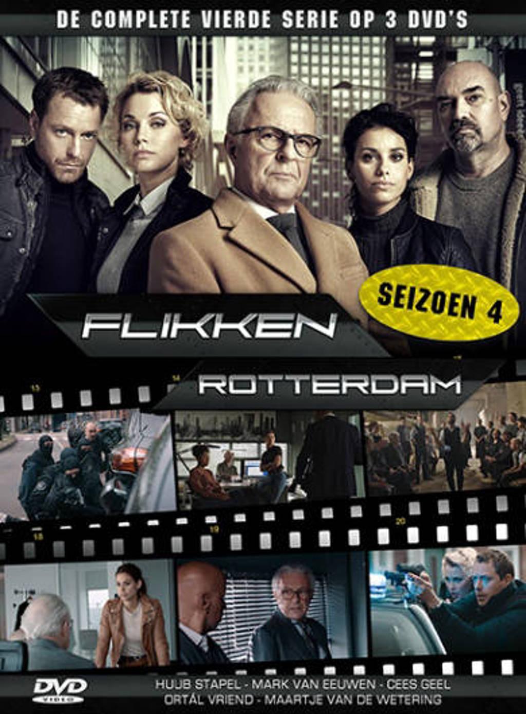 Flikken Rotterdam - Seizoen 4 (DVD)