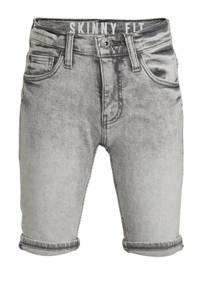 C&A The Denim skinny jeans bermuda lichtgrijs, Lichtgrijs