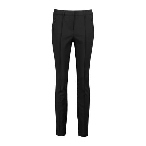 Expresso slim fit broek zwart