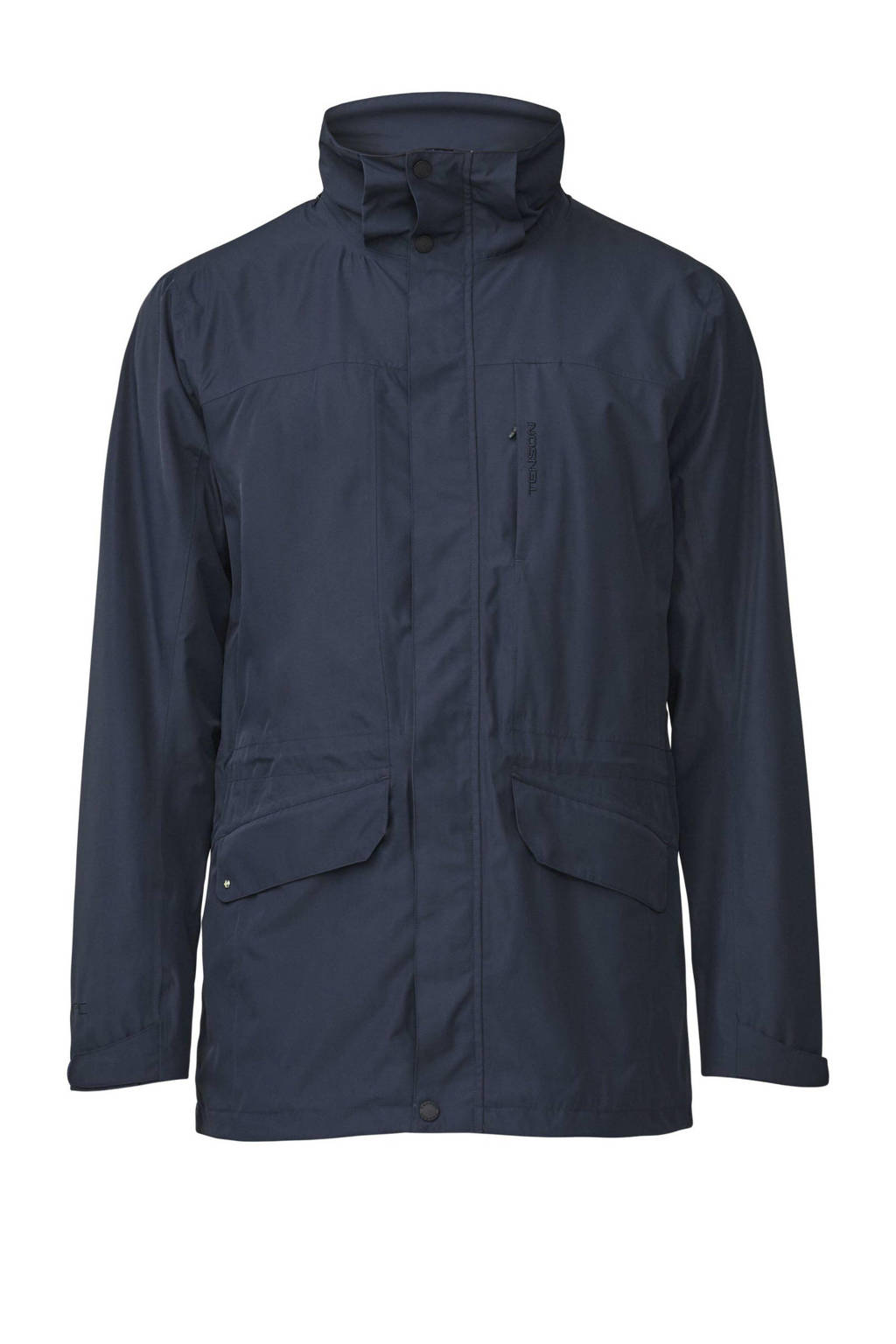 Tenson outdoor jas George donkerblauw, Donkerblauw