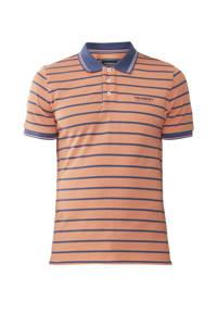 Tenson outdoor polo Gian oranje/blauw, Oranje