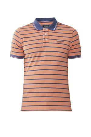 outdoor polo Gian oranje/blauw