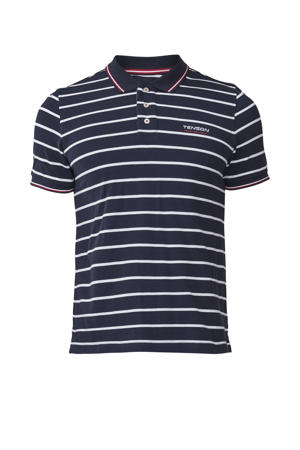 outdoor polo Gian donkerblauw/wit