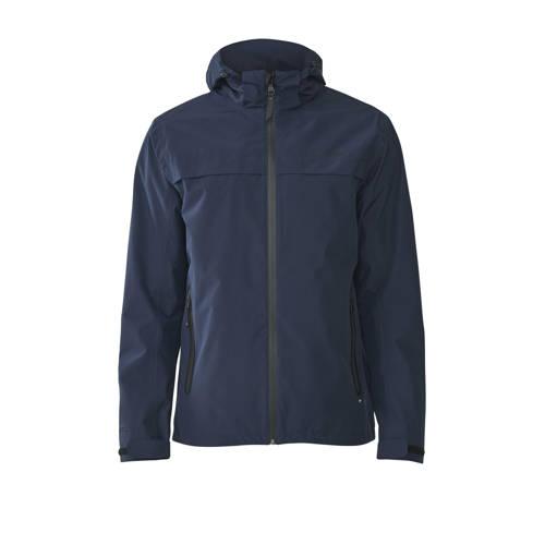 Tenson outdoor jas Ivar donkerblauw