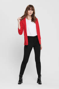 ONLY blazer rood, Rood