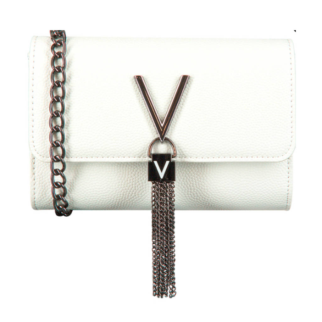 Valentino   crossbody Divina tas wit, Wit