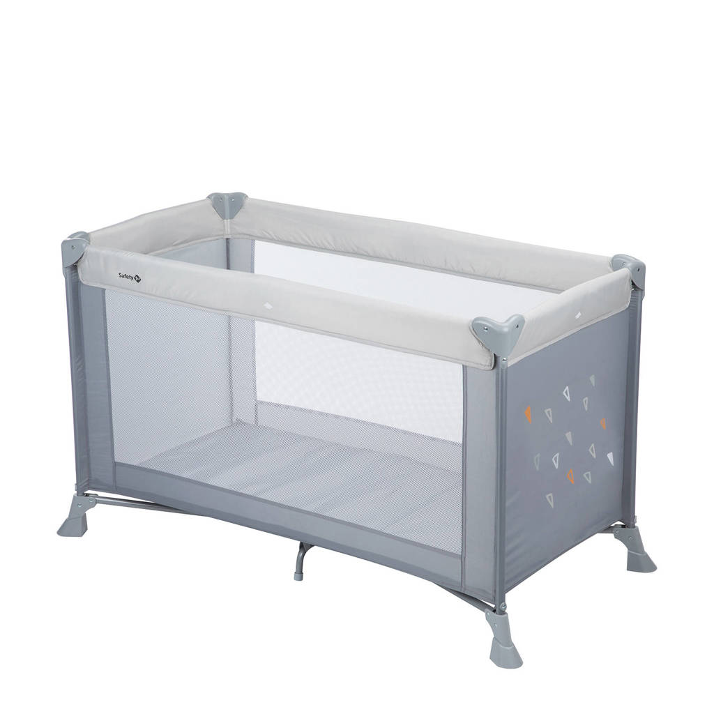 Safety 1st Soft Dreams campingbedje - warm grey, Warm Grey