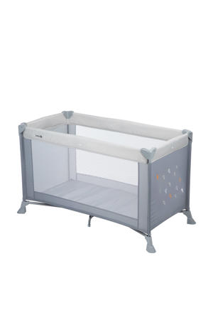 Soft Dreams campingbedje - warm grey
