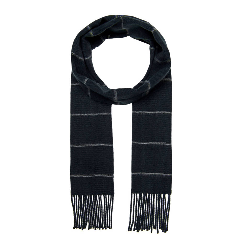ONLY & SONS sjaal donkerblauw, Donkerblauw