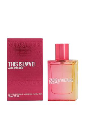 This Is Love! For Her eau de parfum 30ml - 30 ml