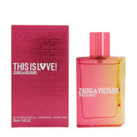 Zadig & Voltaire This Is Love! For Her eau de parfum 50ml - 50 ml