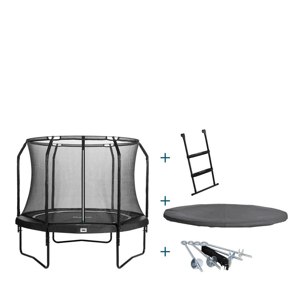Salta Premium Black compleet trampoline set Ø305 cm, Zwart