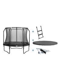 Salta Premium Black complete trampoline set Ø305 cm, Zwart