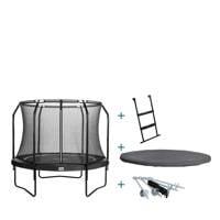 Salta Premium Black trampoline Ø305 cm, Zwart