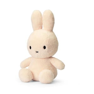 Miffy Sitting Terry crème knuffel 33 cm