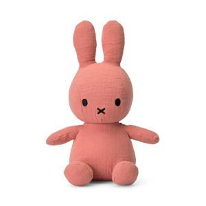 Miffy Mousseline roze knuffel 23 cm