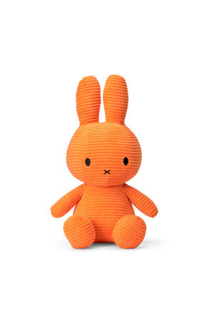 Miffy Sitting Corduroy Orange knuffel 33 cm