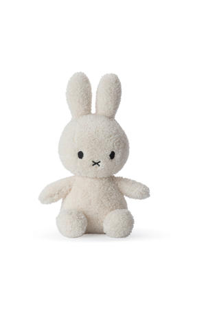 Miffy Sitting Terry Cream knuffel 23 cm