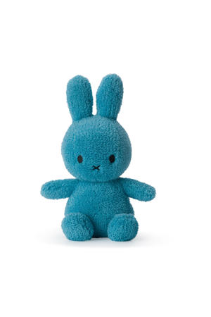 Miffy Sitting Terry Ocean Blue knuffel 23 cm
