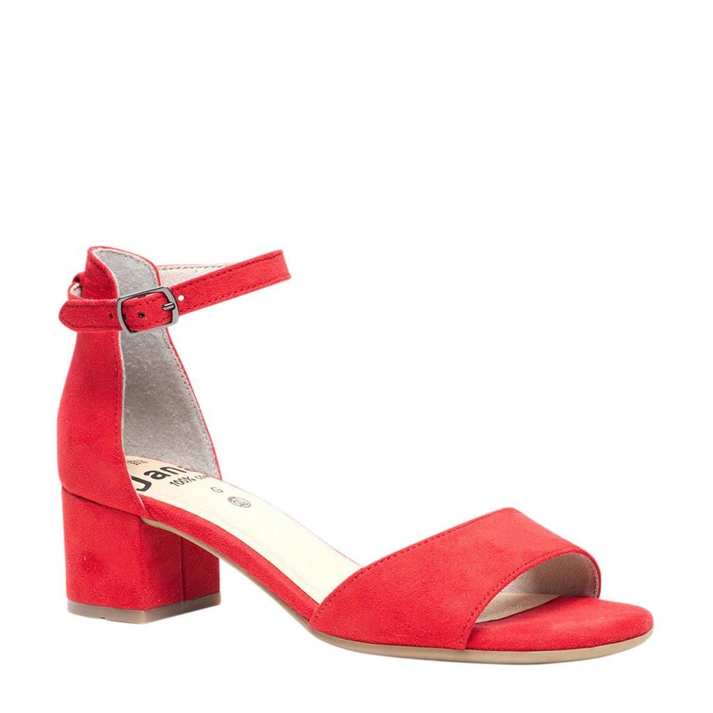 Jana   sandalettes rood, Rood