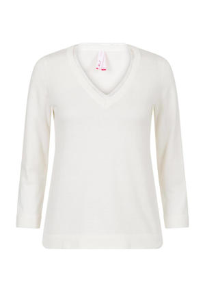 trui met kant wit