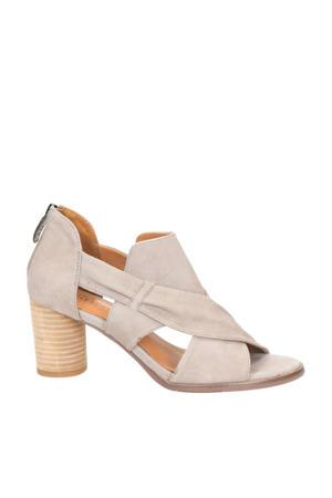 Colly 03  suède sandalettes beige