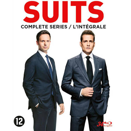 Suits Complete collection , (Blu-Ray). BLURAY
