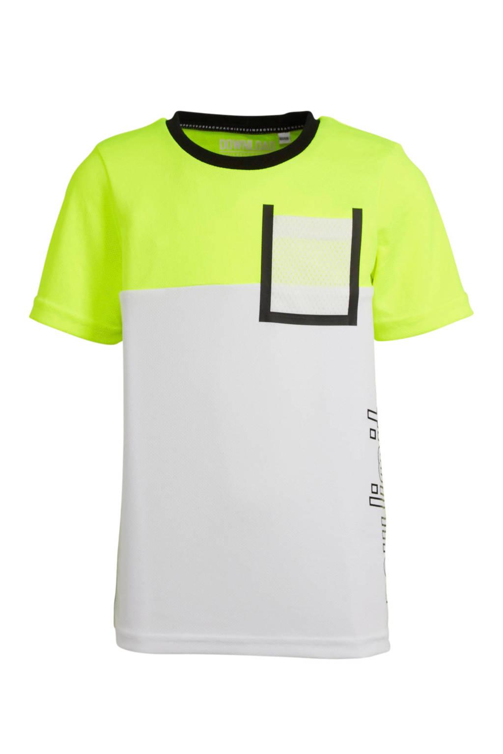 C&A Here & There T-shirt limegroen, Limegroen