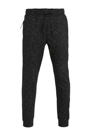 slim fit joggingbroek zwart