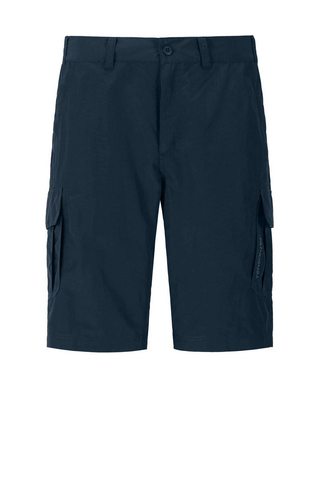 Tenson outdoor short Tom donkerblauw, Donkerblauw