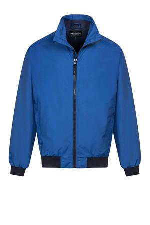 outdoor jas Keaton blauw