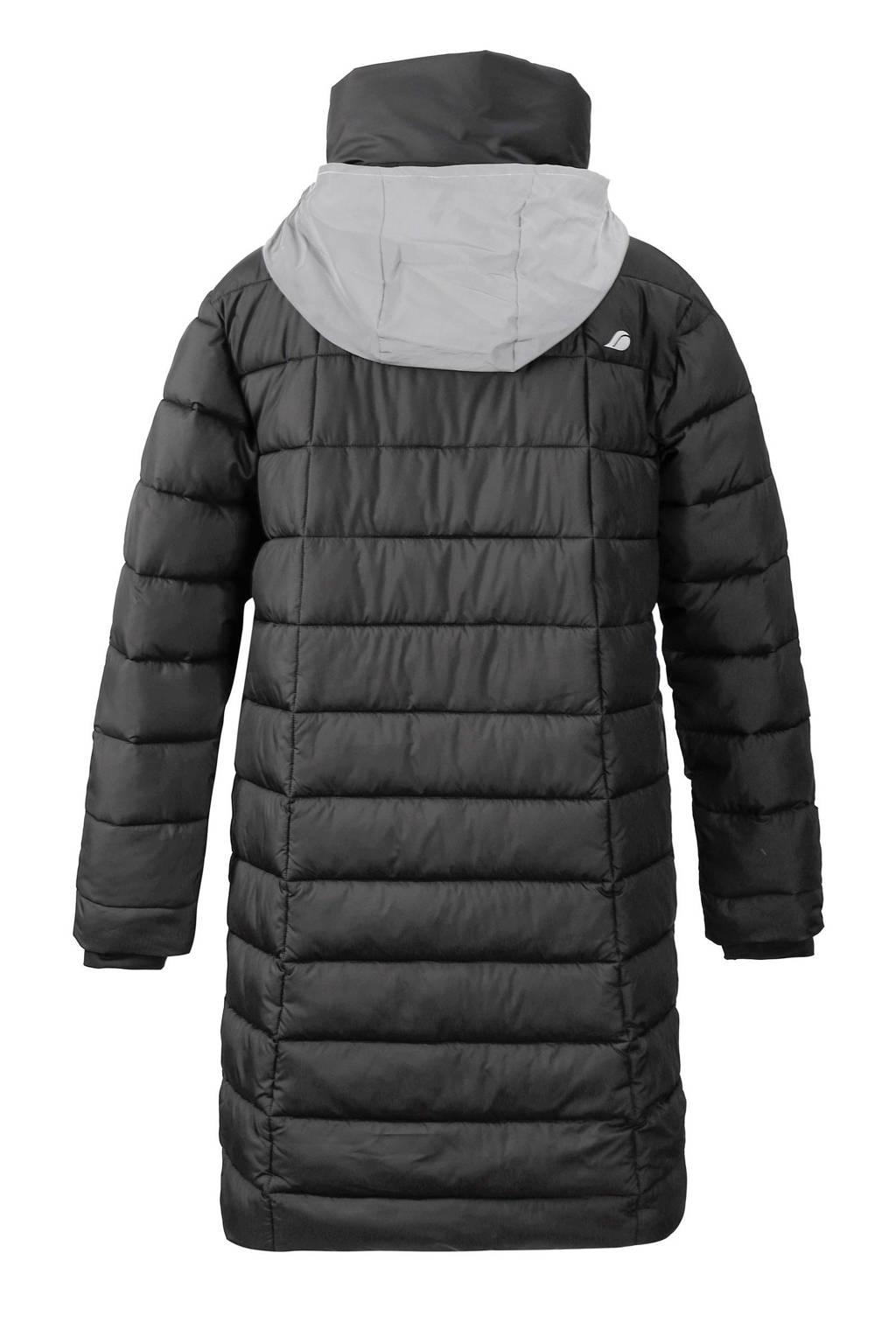Didriksons gewatteerde jas Hilda zwart, Zwart