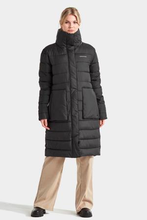 gewatteerde jas Hilda zwart